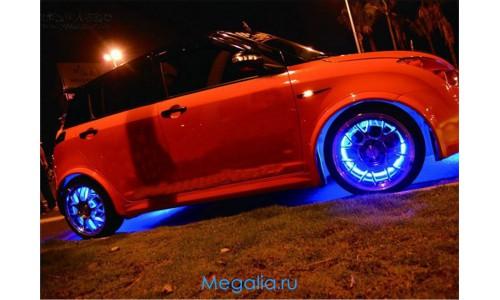 Подсветка колеса автомобиля (на ниппель)2шт
