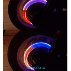 Подсветка колес велосипеда 1 цвет