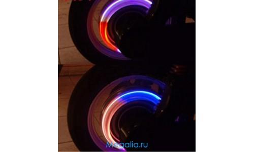 Подсветка колес мотоцикла 1 цвет