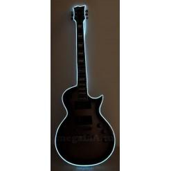 Неоновый шнур для гитары 3 метра, цвет белый