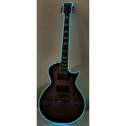 Неоновый шнур для гитары 3 метра, цвет синий
