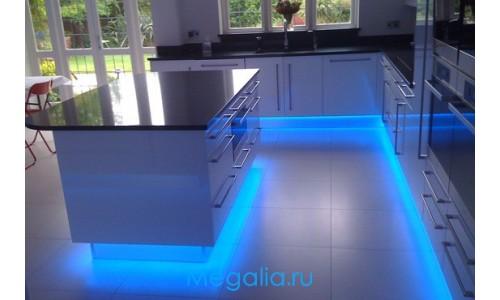 Подсветка мебели 5 метров одноцветная