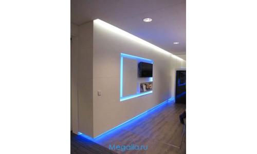 Подсветка мебели 5 метров многоцветная