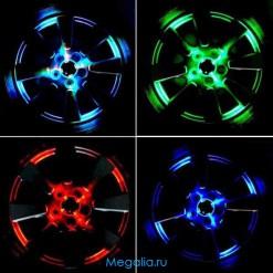 Подсветка дисков на солнечных батареях