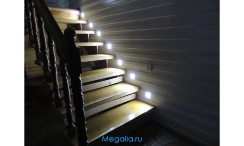 """Подсветка лестницы беспроводная """"Led stair S-5"""" с датчиками движения"""