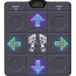 Танцевальный коврик PC+TV (32bit) Рельеф+Подсветка