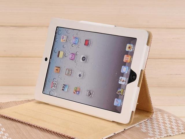 """Чехол для iPad 2 """"Девочка и Мальчик"""""""