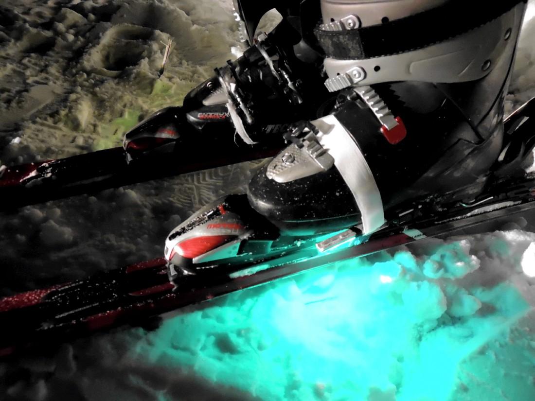Подсветка для лыж Led Ice Skates d-6 rgb