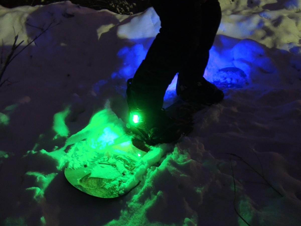Подсветка для сноуборда Led Ice Skates d-6 rgb