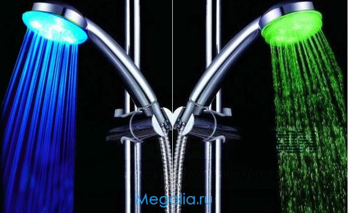 Светящийся душ