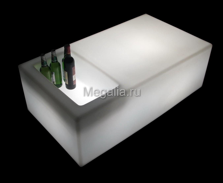 """Светящийся журнальный столик """"Bar"""""""