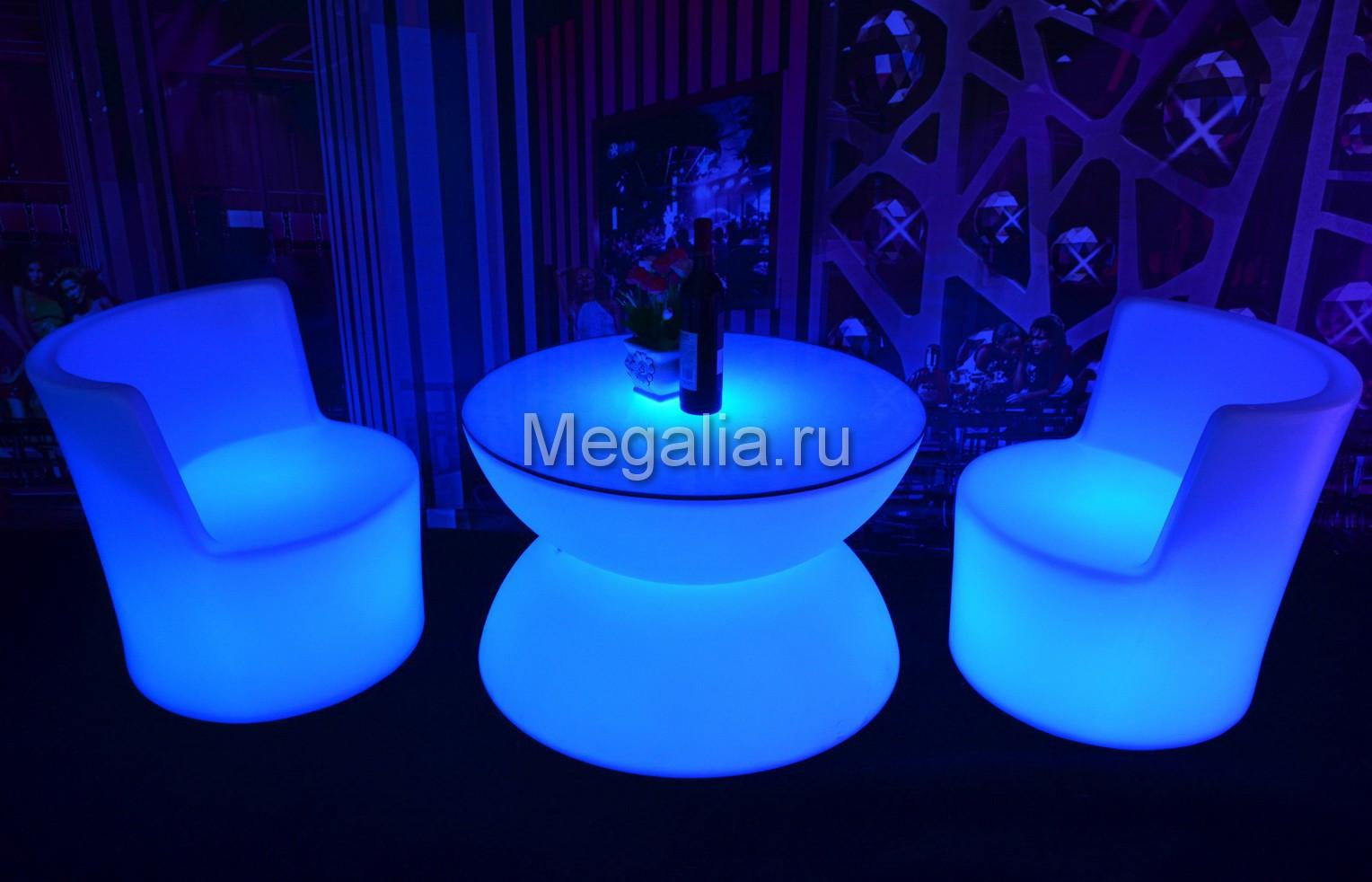 """Светящийся журнальный столик """"Patio II"""""""