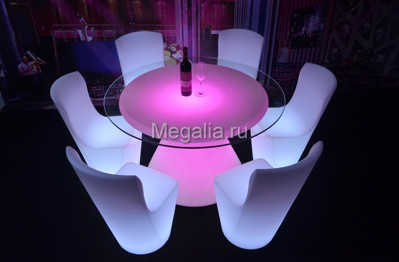 """Светящийся обеденный стол """"boletus"""""""