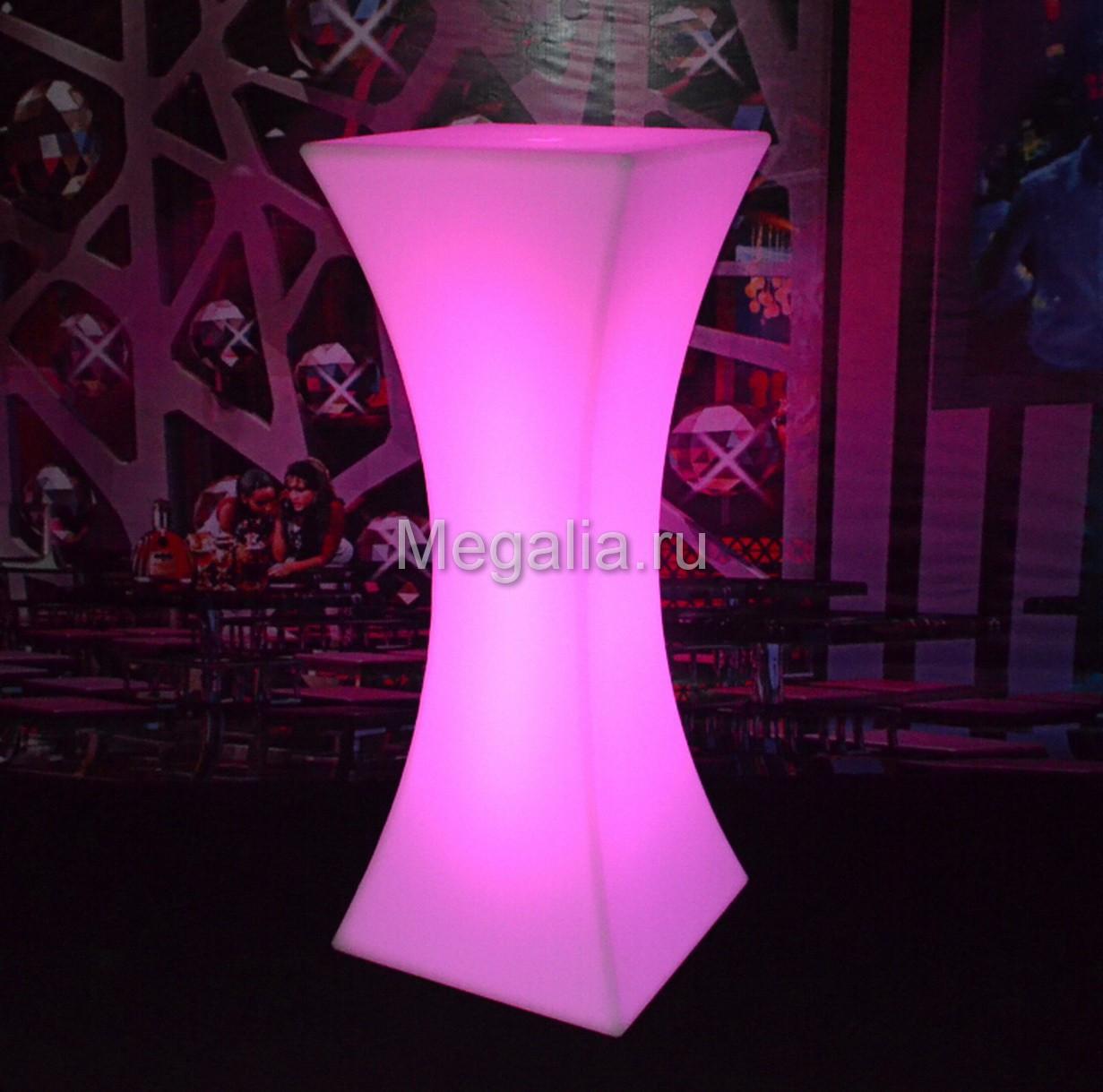 """Светящийся коктейльный стол """"Sandglassi"""""""