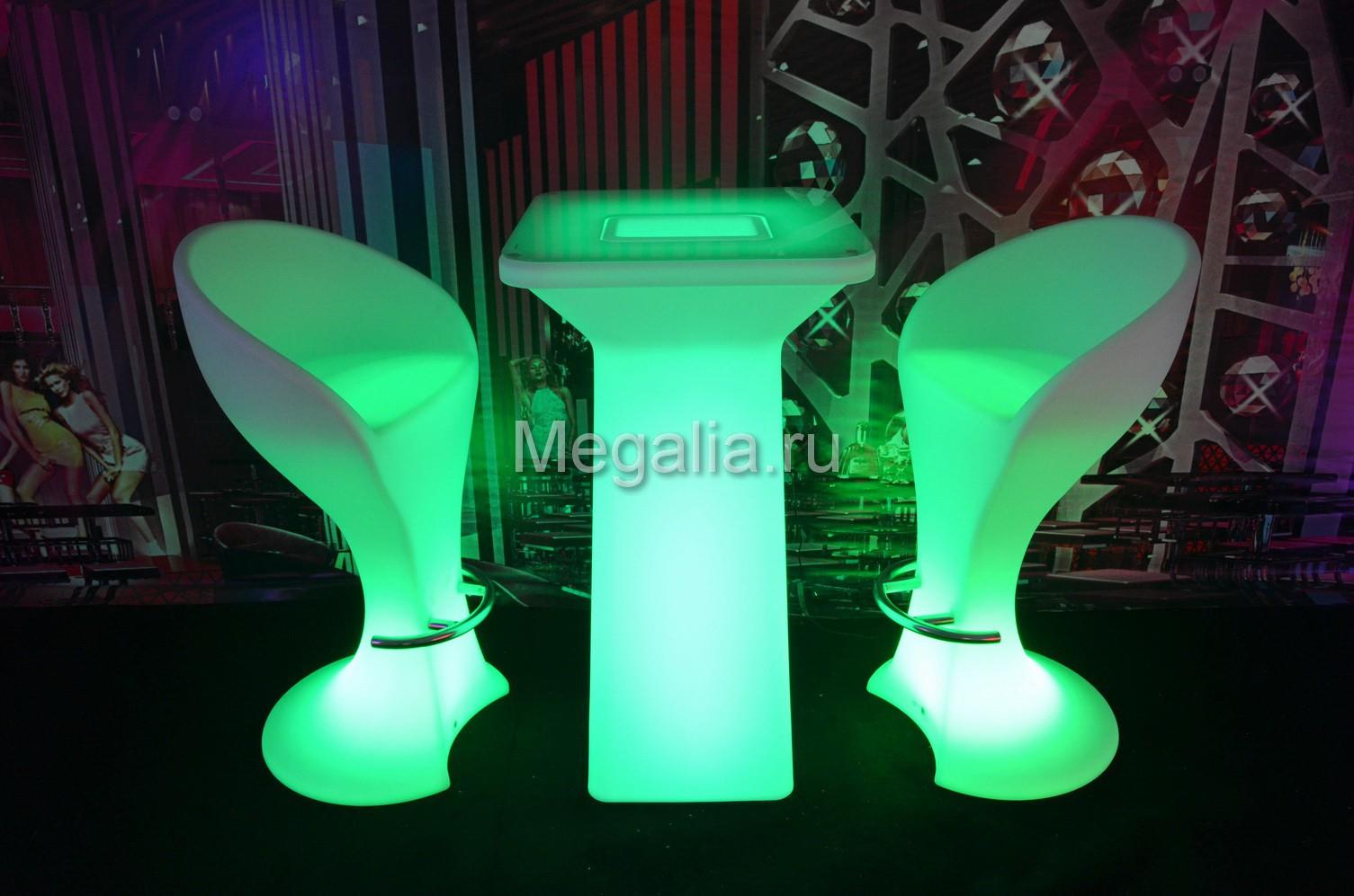 """Светящийся коктейльный стол """"Flare"""""""