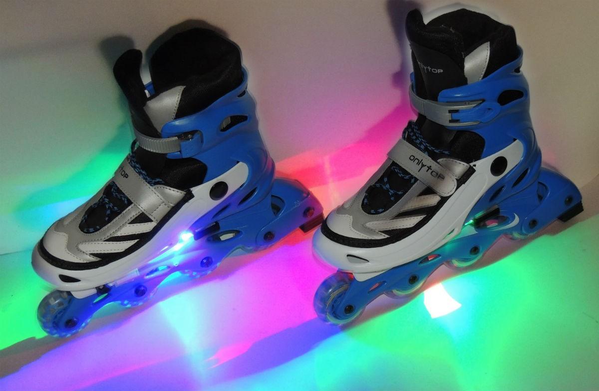 Подсветка роликовых коньков