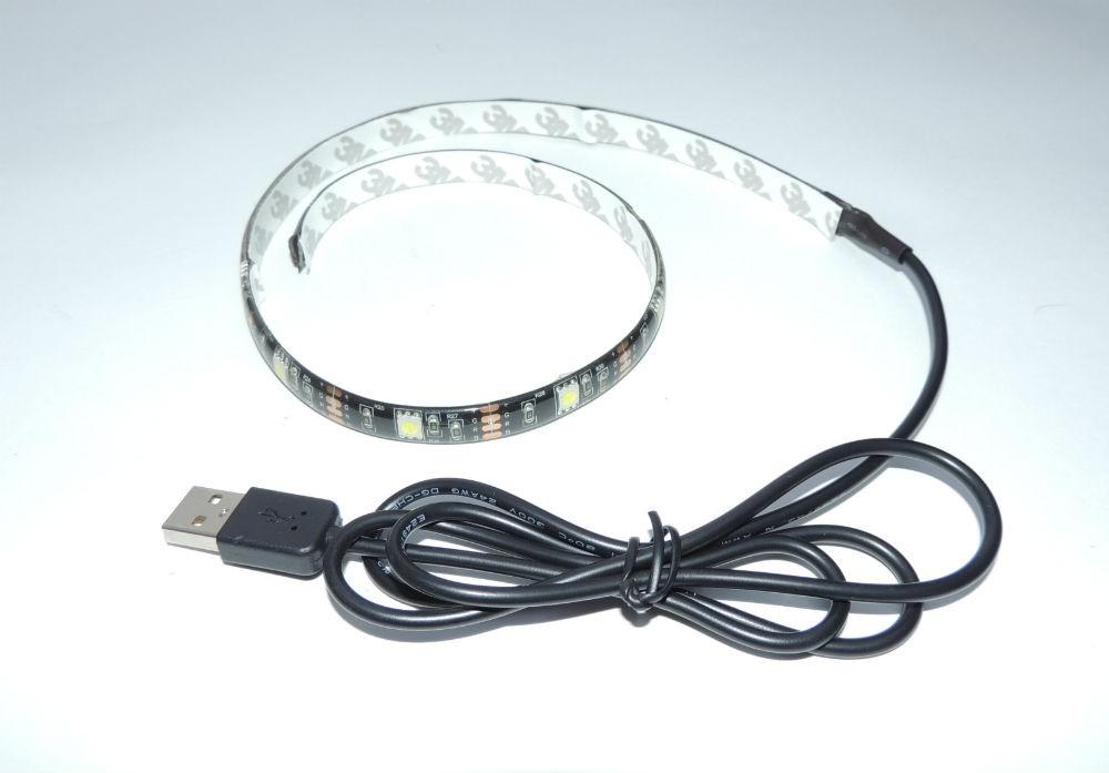 Подсветка телевизора USB Led 1 White