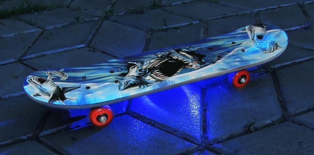 Подсветка скейтборда