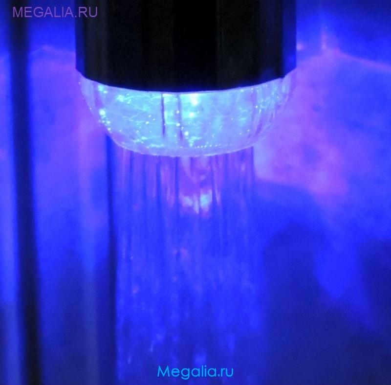 Насадка на кран с подсветкой (3 цвета)