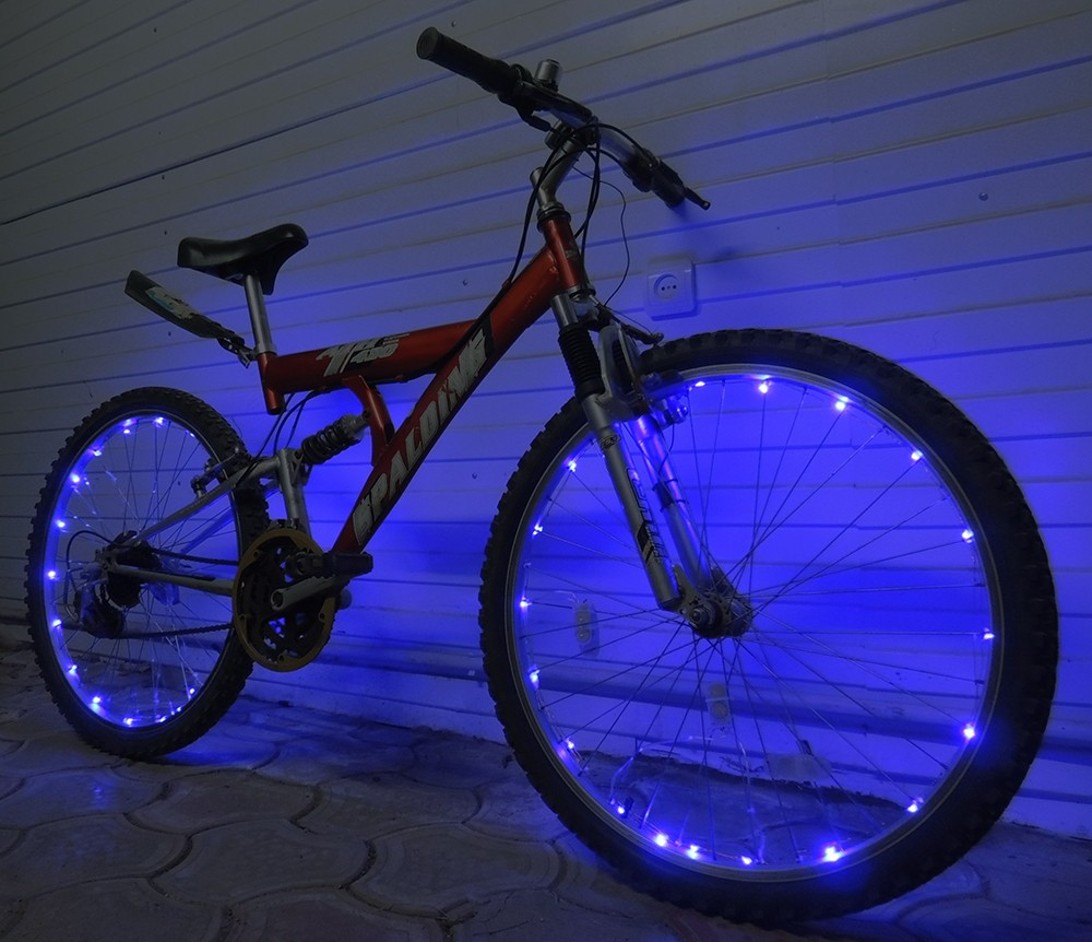 "Подсветка колёс велосипеда ""40 LED"""