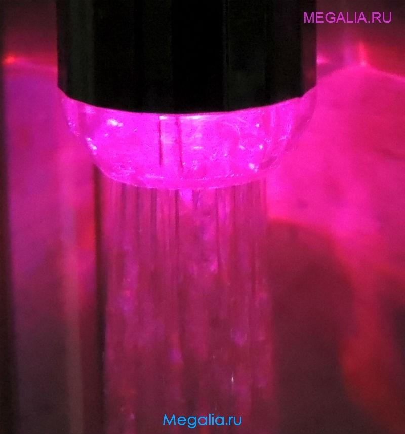 Насадка на кран с подсветкой (7 цветов)