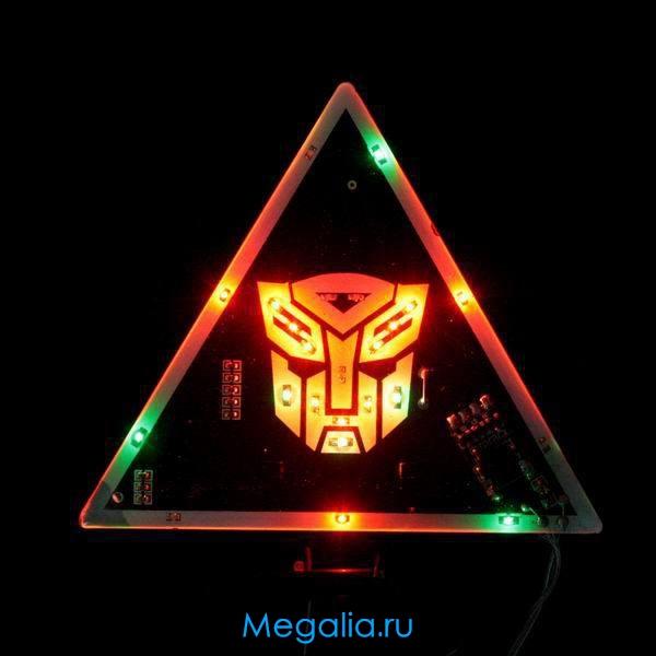 Светящийся треугольник