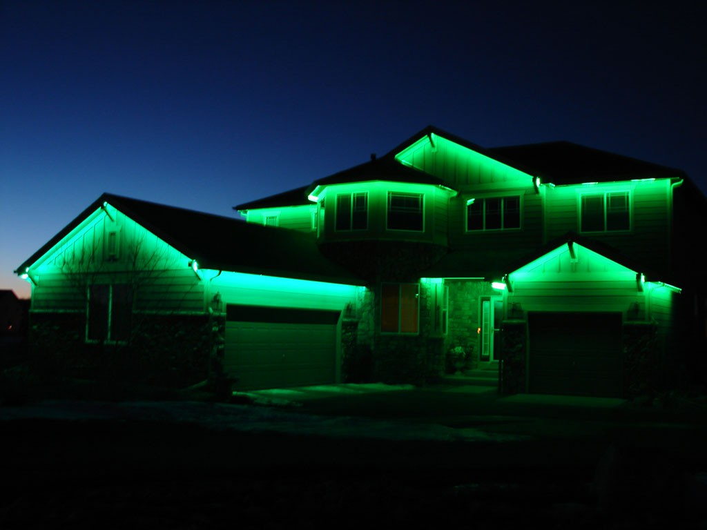 Подсветка дома своими руками фото 628