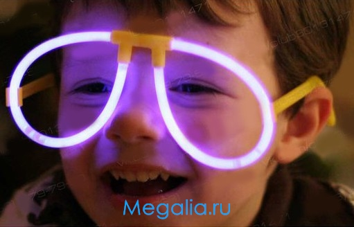 Очки неоновые