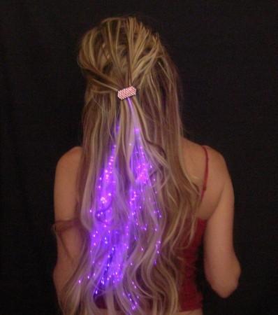 Светящиеся волосы