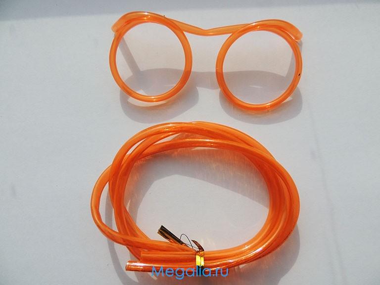 Питьевые очки трубочки