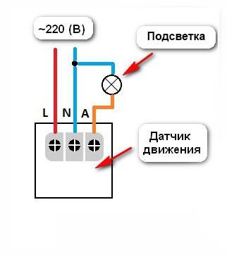 Датчик движения ДД 024